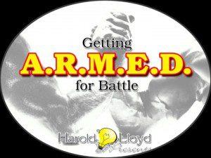Harold Lloyd Presentations - Getting Armed for Battle