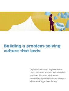 Building a Problem Solving Solution