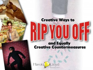 Harold Lloyd Presentations - Creative Ways to Rip You Off