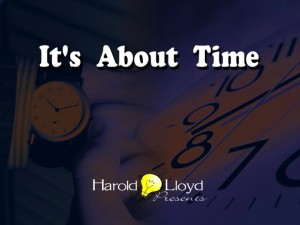 Harold Lloyd Presentations - It's About Time