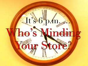 Harold Lloyd Presentations - It's 6 PM – Who's Minding Your Store?